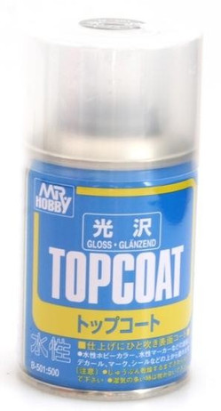 Gunze Top Coat Klarlack matt, Spraydose