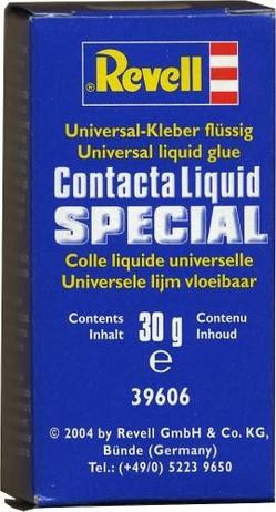 CONTACTA LIQUID SPECIAL, Colle plastique liquide, Revell 39606