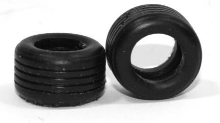 Reifen 34f / F1Competition Compound (2 Piece) Slotcar - Tire of Michael Ortmann