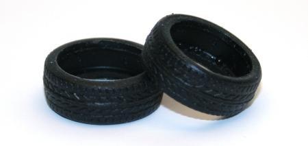 Reifen 38 Competition Compound (2 Piece) Slotcar - Tire of Michael Ortmann