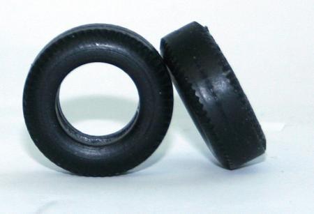 Reifen 28c Competition Compound (2 Piece) Slotcar - Tire of Michael Ortmann